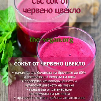 Вълшебният сок от червено цвекло